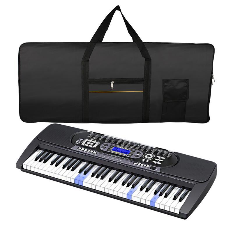 buy new piano bag professional portable 61 key keyboard electric organ piano. Black Bedroom Furniture Sets. Home Design Ideas