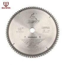 """10"""" 250mm Circular Saw Blade For Wood/Aluminum Cutting General Purpose 40 60 80 100 120 Teeth"""