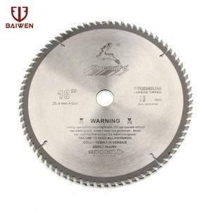 "Image 1 - 10"" 250mm Circular Saw Blade For Wood/Aluminum Cutting General Purpose 40 60 80 100 120 Teeth"
