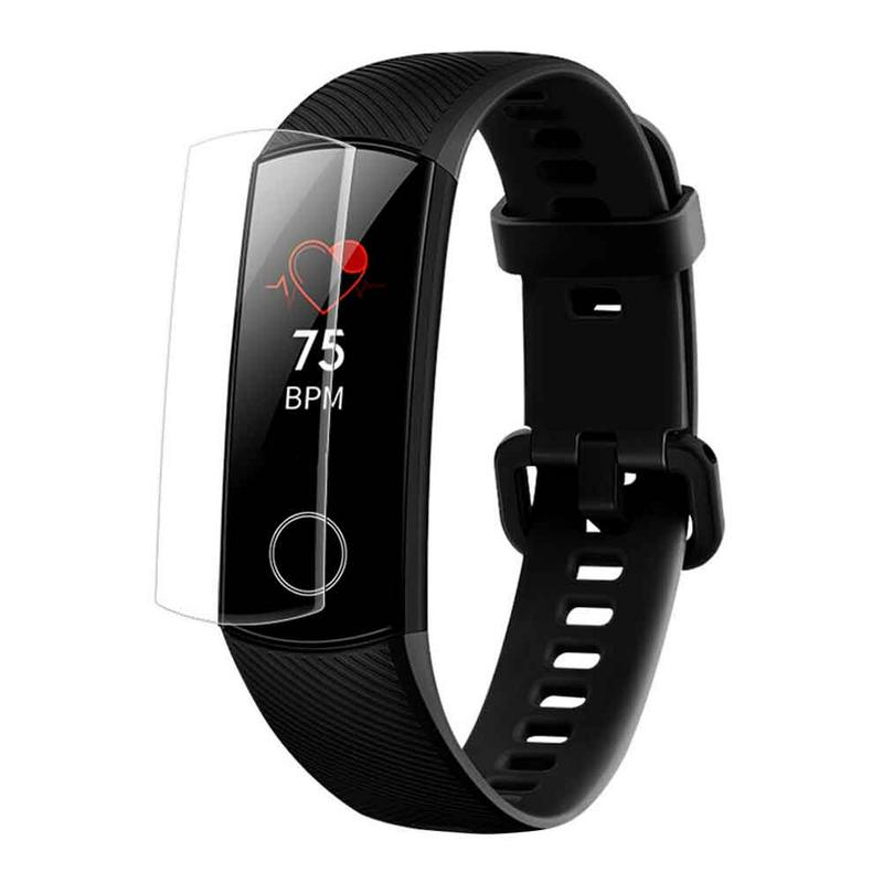 Screen-Protector Honor-Band Huawei 4-Bracelet Explosion-Proof TPU HD for Hydraulic-Film