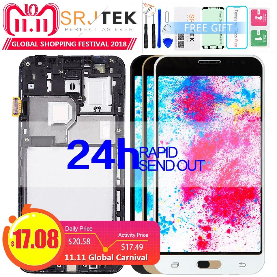 Display TFT j3 Para Samsung J3 2016 Exibição J320 J320A J320F J320M Quadro de Tela de Toque Digitador Sensor de Vidro Para galaxy j320f LCD