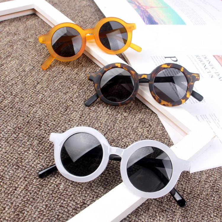 Zilead Kids Round Sunglasses Child Boys Girls UV400 Sun Glasses Children Eyeglasses Eyewear Gafas Oculos De Sol