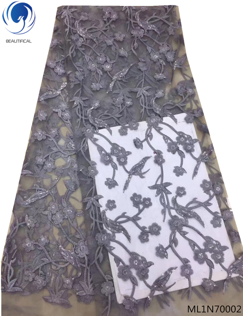 French Net Lace Fabric 2018 High quality Latest African Lace Fabric With Embroidery Mesh Tulle Lace