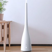 4L Floor Style Intelligent Purification Air Humidifier For Home Office Intelligent Digital Display Smart Thermostat Air Purifier
