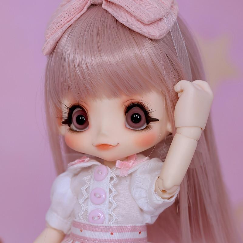OUENEIFS bjd sd doll kinoko Juice Kiki 1/6 body model baby girls dolls eyes High Quality toys shop resin цена