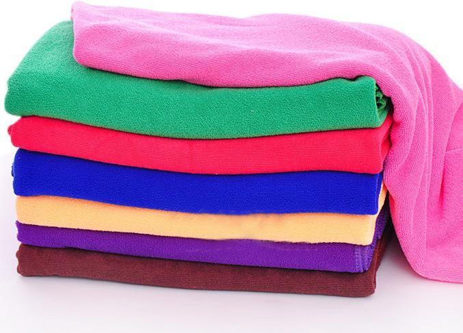 Банное полотенце, автомобиль стиральная ткань, микрофибра полотенце, size140x70cm, мочалкой, быстрый - сухой, многоцветный