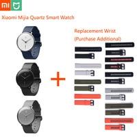Orignal Xiaomi Mijia Quartz Smart Watch Mi Smartwatch Life Waterproof Automatic Calibration Time Men Women Ios Android Watches