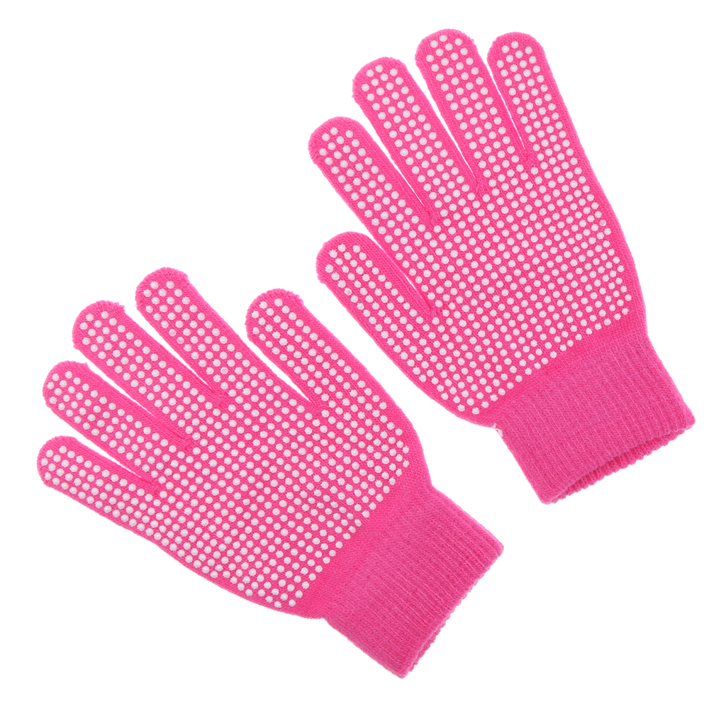 Palm-Gloves Hands-Protection Horse-Rider For Rose-Red-Equipment Pimple Outdoor
