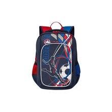Рюкзак школьный Grizzly, тёмно-синий