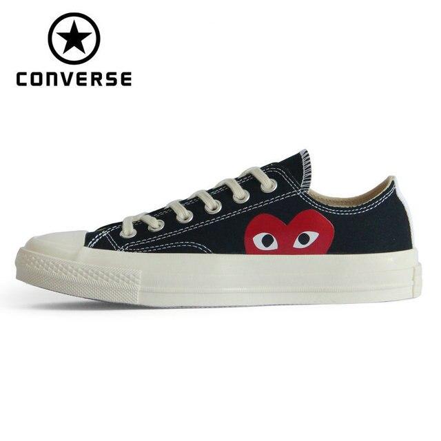 Converse Chuck 70 All Star Woman Skateboarding Shoes  Original CDG X Converse 1970S Men Sneakers # 150206C