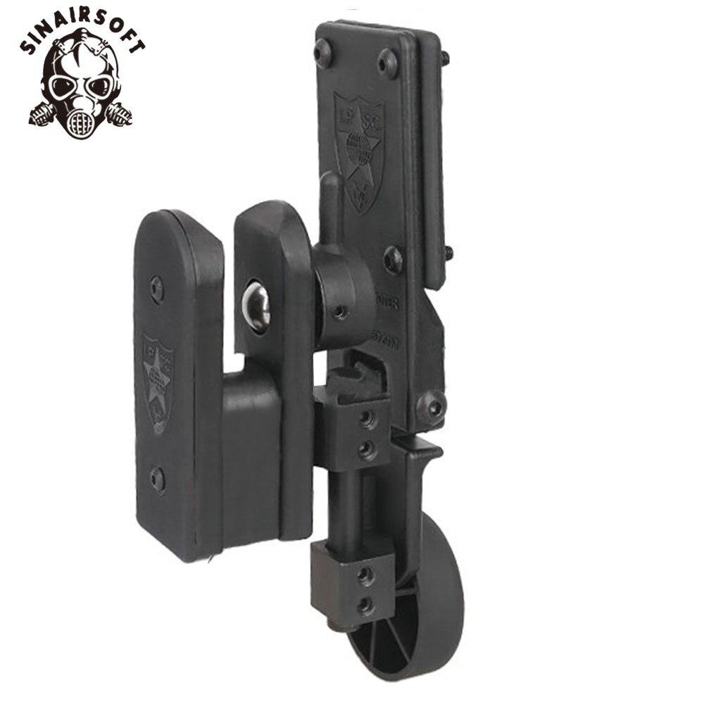 IPSC USPSA IDPA Profession tir compétition vitesse tirage rapide tireur réglable à droite et à gauche pistolet étui
