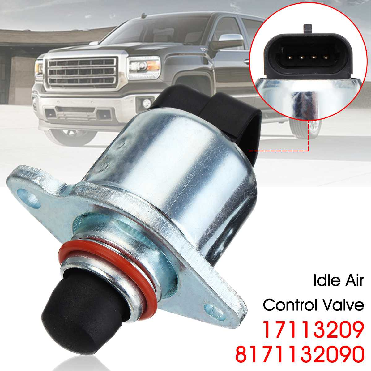 New Idle Air Control Valve For Chevy Express 1500 Van for GMC C1500 Truck 17113209 8171132090in
