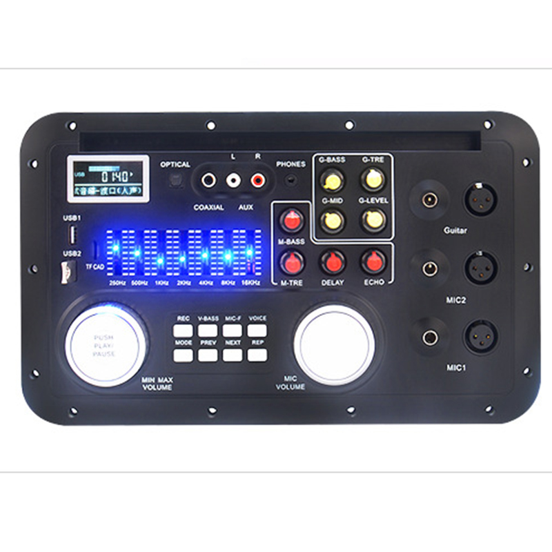LEORY Car bluetooth Mixer Decoder Fiber Coaxial Lossless DSP Decoding Equalizer DIY For Amplifiers Audio Board Home Theater