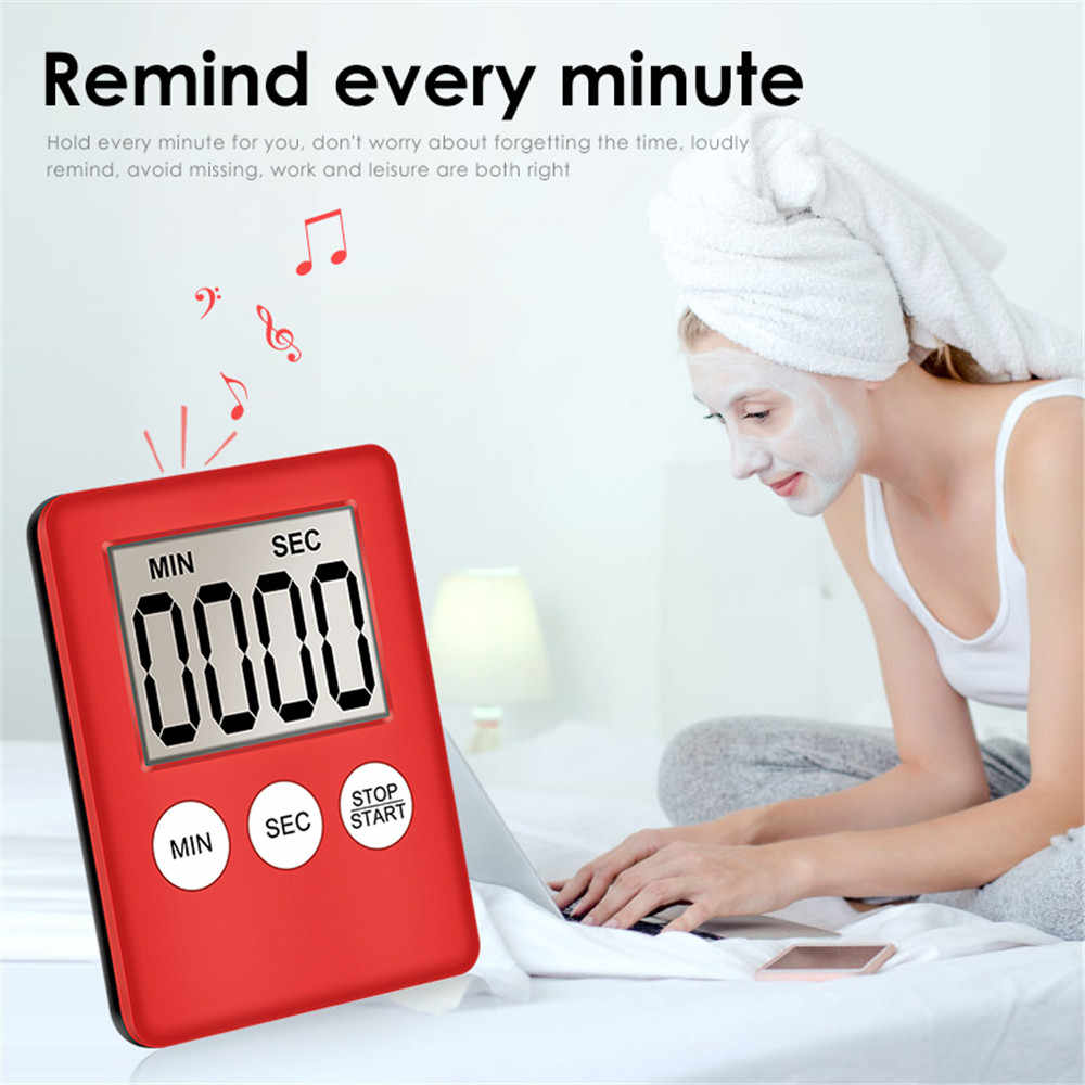 Simple Timer Detail Feedback Questions About 1pcs 3 Buttons Kitchen Thin Lcd Digital Screen Plastic Cooking Count Up Countdown Alarm
