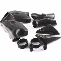 Ram Air Intake Tube Duct Black For Honda CBR600RR 2005 2006 F5 ABS Motorcycle
