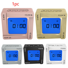 Snooze Digital Timer Clock Home Use Portable Countdown Up Students Reading Office Backlight Alarm Vibrating Time Management digital clock