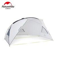 Naturehike Outdoor Camping Tent Sun Shelter Awning Rainproof Anti UV Sun Shelter Canopy Beach Sunshade External Rain Protection