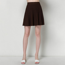 Spring and summer new knitted skirts solid high waist umbrella mujer womens sexy short knitting 1607
