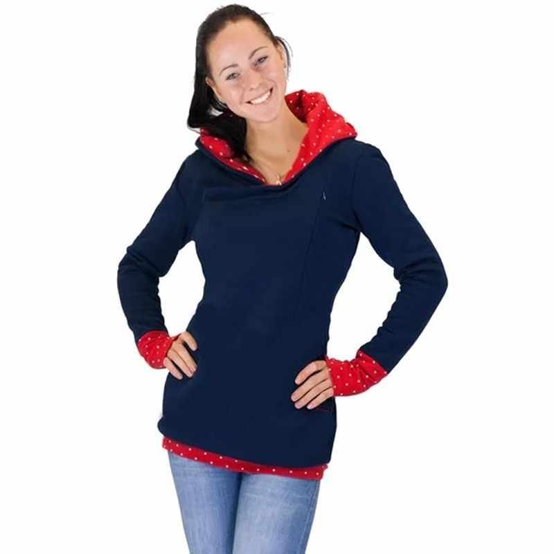 0fb476022c1c0 ... Autumn Winter Warm Nursing Maternity Hoodies For Pregnant Women  Breastfeeding Pregnancy Hooded Top Maternity Lactation Sweater ...