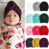 2019 Children Accessories Newborn Toddler Kids Baby Boy Girl Turban Cotton Beanie Hat Winter Warm Soft Cap Solid Knot Soft Wrap Fashion & Accessories Hats and Caps Kid's Hat & Caps