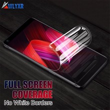 hot deal buy 9d soft full cover hydrogel film for xiaomi mi 6x 6 8 a2 lite screen protector for mi max mix 2 3 pro screen protective film
