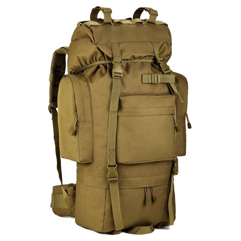 Randonnée chasse sac à dos tactique confort étanche haute capacité Style militaire en plein air sac de voyage utilitaire Camping randonnée sacs