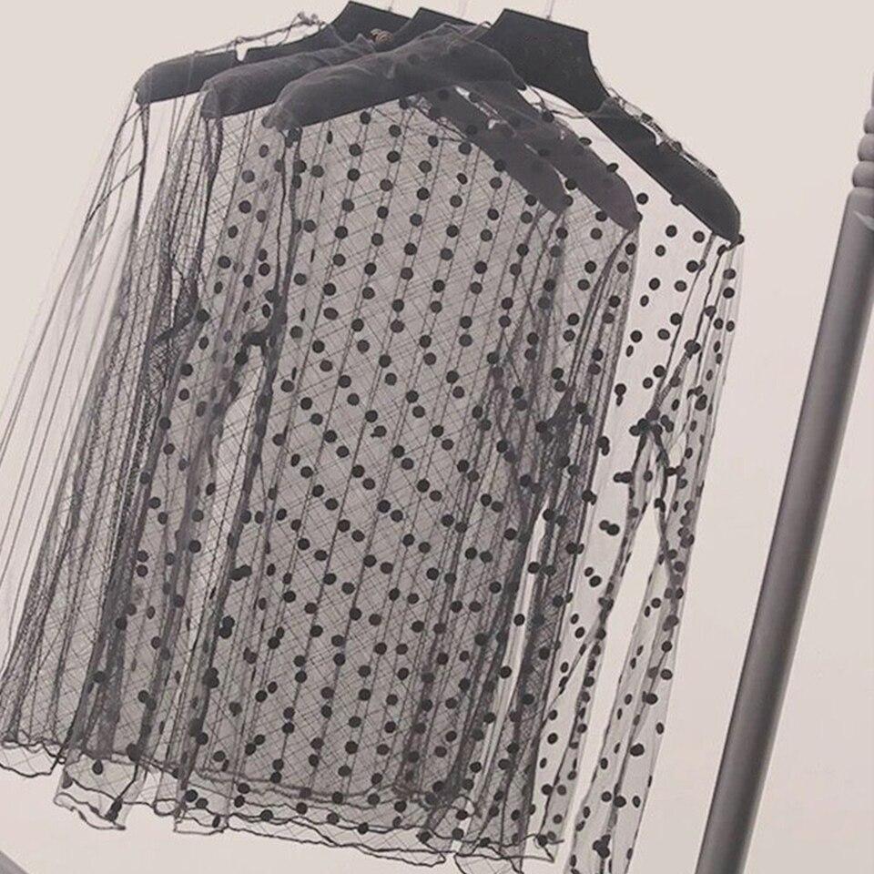 Damskie koronkowe bluzki koszula letnia wiosna bluzki  Pa7wF