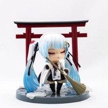 2018 Snow Miku Hatsune Nendoroid 850 Crane Priestess Ver. PVC figure figura
