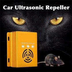 Auto Elettronico Ad Ultrasuoni di Controllo Dei Parassiti Roditore Ratto Del Mouse Repeller Mouse Del Mouse Repellente Anti Zanzara Del Mouse Repeller Del Roditore