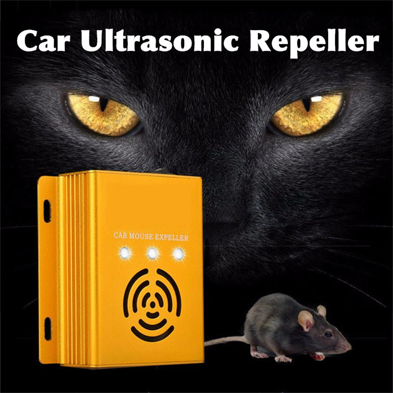 Car Ultrasonic Electronic Pest Control Rodent Rat Mouse Repeller Mice Mouse Repellent Anti Mosquito