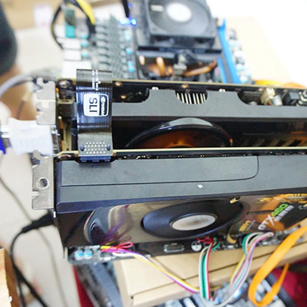 Image 5 - Высокоскоростной видеокарты разъем адаптера SLI мост адаптер для GTX1070/1080 компьютерный настольный адаптер