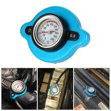 KKMOON 0,9 бар термостатическая крышка радиатора с датчиком температуры воды для грузовика вилочного погрузчика прицепа