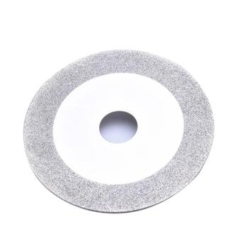 цена на 100 mm Diamond Cuttering Grinding Wheel for Grinding Stone Glass Silver Polishing Disc Pads Grinder Angle Grinder Rotary Tool
