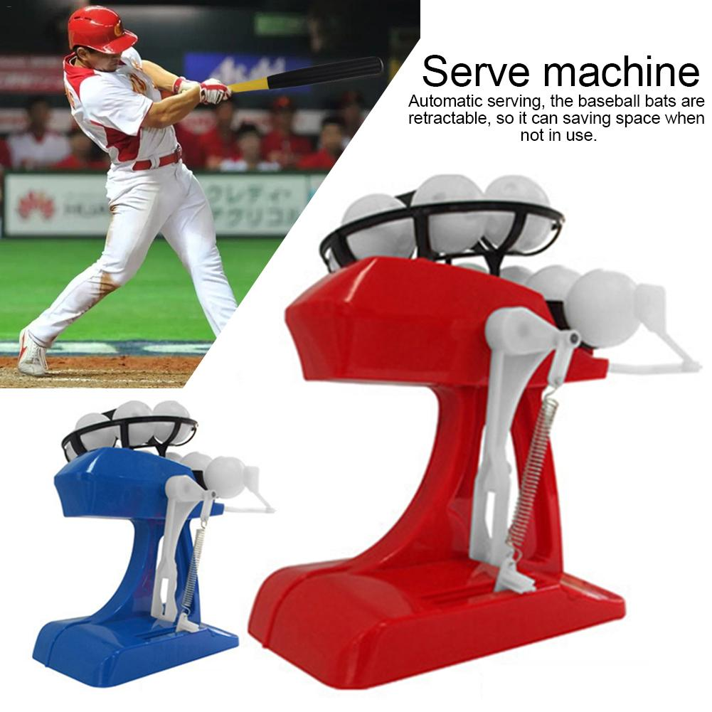 Electronic Baseball Pitching Machine Height Adjustable Ball Pitches Every 8 Seconds Automatic Serving For Children Exercise