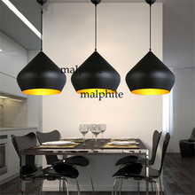 Modern Tom Pendant Lights Led Loft Gallery Hanging Lamp Dining Room Kitchen Home Fat Suspension Luminaire Industrial Decor недорого