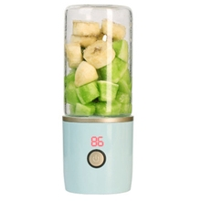 Juicer Household Small Portable Electric Juicer With Mini Rechargeable Fruit Juice Cup juicing crushing ice stirring making milk himoskwa 350ml usb rechargeable portable fruit juicer 5v for travel mini soybean milk machine ice crusher food processor