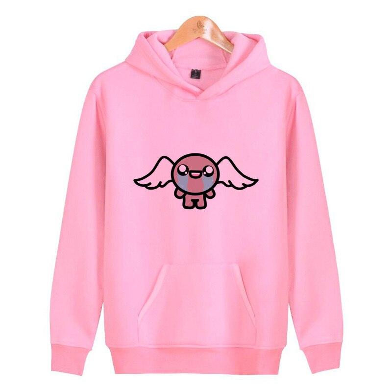 The Binding Of Isaac Hoodies Men Casual Pullover Male Sweatshirt Funny Hoodie Clothing Printed Sweatshirts V4369