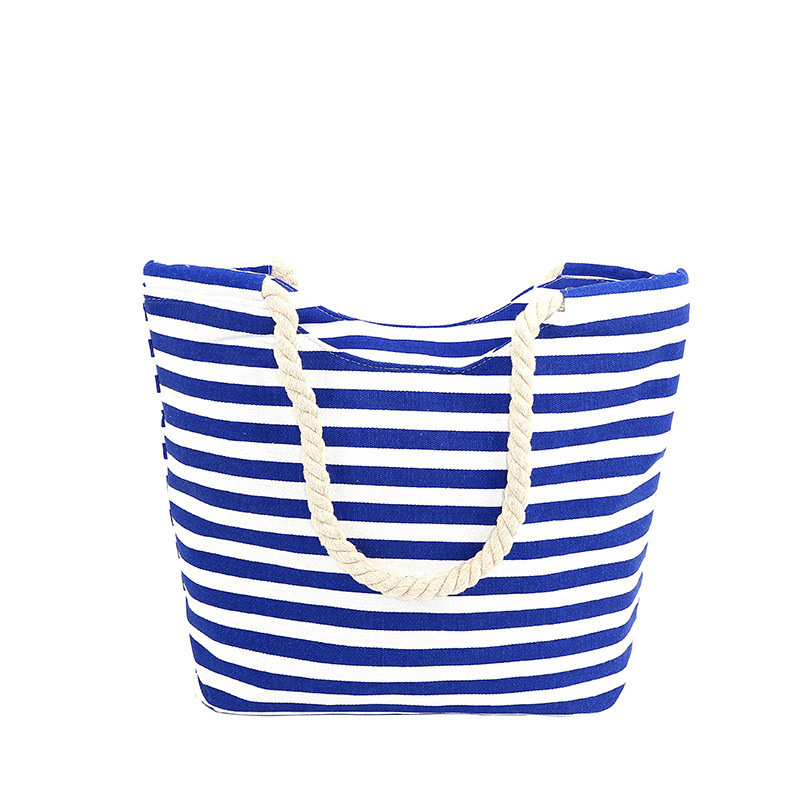 Women Totes Canvas Handbag Summer For Coco Big Bag Female Bolsa Feminina Top handle Shopping Bags Sac Plage Embroidery Handbags in Top Handle Bags from Luggage Bags