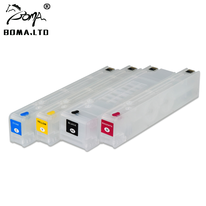 100% High Quality Good Feedback For HP 970 971 970XL 971XL Refill Ink Cartridge With Auto Reset ARC Chip цена 2017