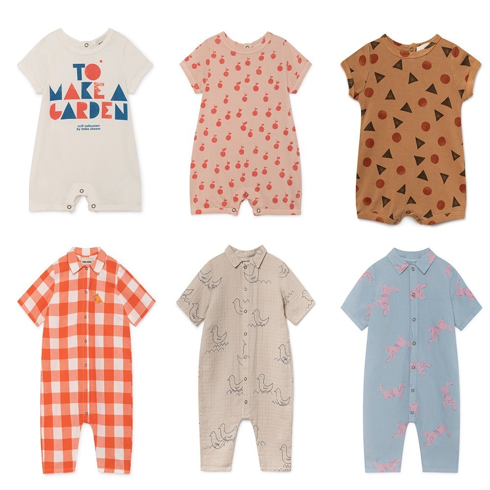 Baby Boys   Rompers   2019 Summer Bobo Choses Girls Print Jumpsuits Newborn Infant Cotton One Pieces Clothes Toddlers Costume