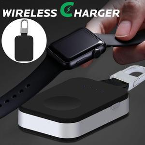 Image 1 - Grande capacidade portátil apple watch 1/2/3 carregador sem fio acessórios do telefone celular chaveiro carregador sem fio portátil novo