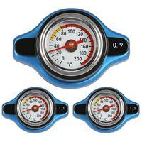 Большая голова 0.9Bar/1.1Bar/1.3Bar гонки Температура Датчик автомобиля термометр крышка радиатора Температура воды метр