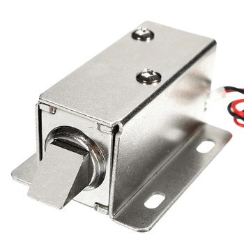 12V DC 1 1A zamek elektryczny elektromagnes montażowy do szafki szuflady drzwi blokada małej mocy Smal automatyczny zamek elektryczny s tanie i dobre opinie Safurance Electric Cabinet Lock