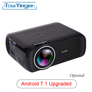 Image 1 - Everycom X7 Mini USB projector android led beamer full hd video portable home cinema Pocket TV theater video projecteur 3D