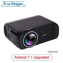 Everycom X7 Mini USB projektör android led beamer full hd video taşınabilir ev sinema cep TV tiyatro video projecteur 3D