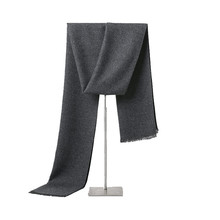 Simple Business Style Solid Cashmere Scarf Men Scarves Women Scarf Win