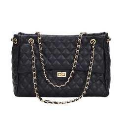 Роскошные сумки для женщин дизайнерский бренд Tote повседневное из искусственной кожи цепи большой плеча Crossbody для обувь девочек Bolsas sac