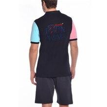Homens do Polo Eden Park 2018 Marca o Verão Curto Roupas Polos Famosa  Camisa Masculina Casual Sportswear Respirável Mens Camisas. e7b513e4c5133