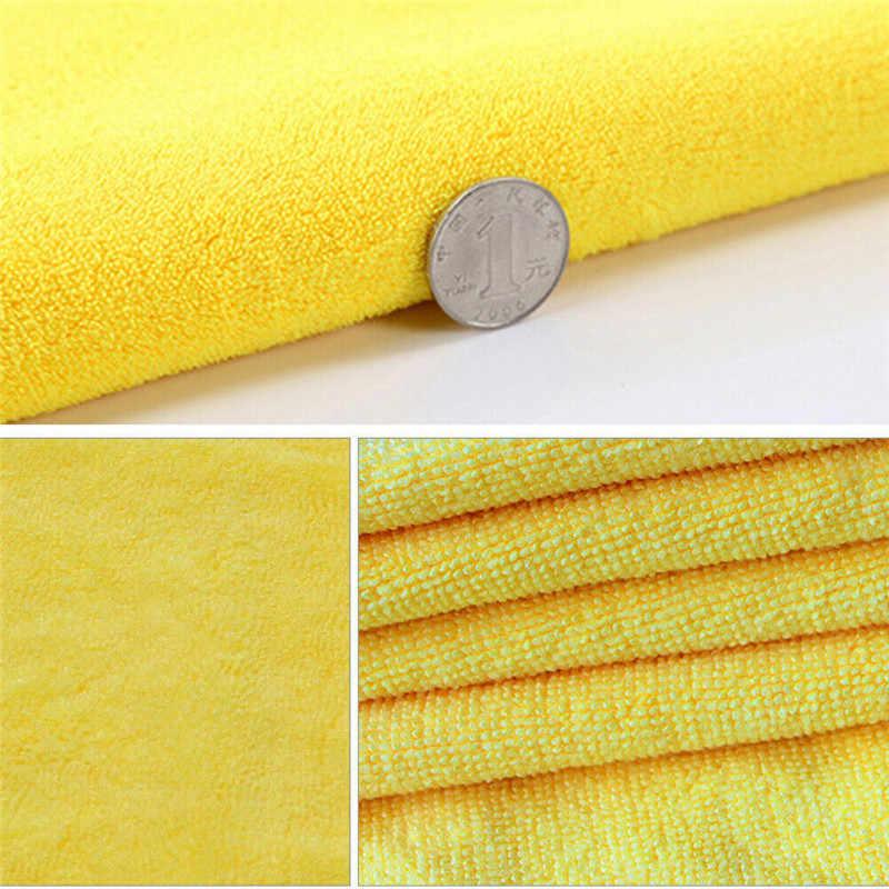 ผ้าขนหนูไมโครไฟเบอร์ครัวรถผ้าQuickผ้าเช็ดทำความสะอาดSuperดูดซับแห้ง