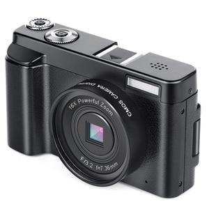 Image 5 - Micro Macchina Fotografica, videocamera digitale Hd 1080P 24Mp Display Tft Da 3.0 Pollici 16X Zoom Digital Video Camera Dv Camcorder Mini Dslr Dc101 (E
